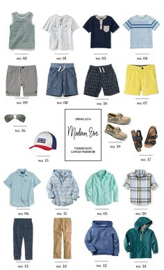 Dressing your boys in comfy clothes doesn't mean they need to be sloppy. Committing to a style and color palette, while paying attention to minor details is great way to elevate your son&#821…