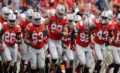 Ohio State leads the way on this year's college football futures odds to defend the National Championship, but the Buckeyes will have to get through a tough Big Ten Conference first.