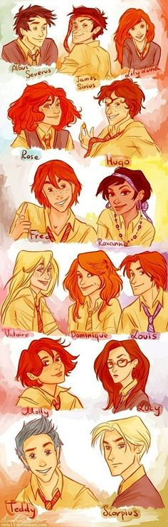 Next Generation Harry Potter