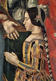 renaissance art , Este, Beatrice d - art Italian Renaissance Dress, Renaissance Mode, Renaissance Kunst, Renaissance Portraits, Renaissance Jewelry, Medieval Jewelry, Renaissance Paintings, Renaissance Fashion, Renaissance Clothing