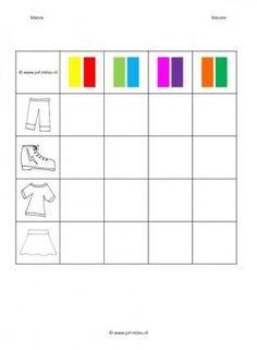 Deze matrix en nog veel meer in de categorie kleuren kun je downloaden op de website van Juf Milou.