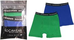 Rocawear Boy's 2-Pc/Pack Cotton Boxer Brief Large Case Pack 48
