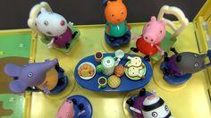 Peppa Pig en español. Peppa Pig cocina galletas para sus amigos. Peppa y...