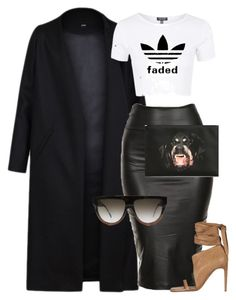 """""""Untitled #1434"""" by siedahsimmons ❤ liked on Polyvore featuring Non, Rick Owens, CÉLINE and Givenchy"""