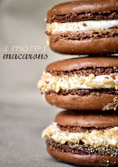 S'mores Macarons easy recipe and delicious dessert
