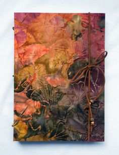 Beautiful! Large Handbound Journal Maidens Hair Gift by BlueHighways on Etsy, $35.00