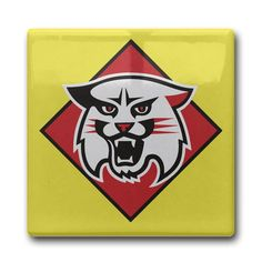 Davidson Wildcats Square Coasters SIZE: 4.3 4.3 Inches *** Remarkable product available now. : Cat mug