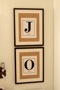 Nice wedding gift idea or kids room idea. I like how clean and simple it is. #diy