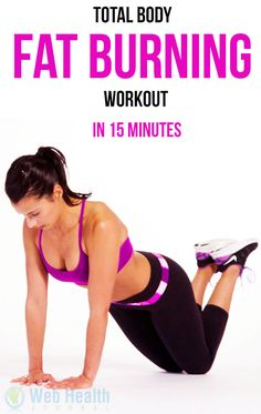 Total Body Fat Burning Workout in 15 Minutes : #weight_loss