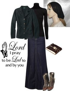 """""""Modest Outfit"""" by christianmodesty ❤ liked on Polyvore"""