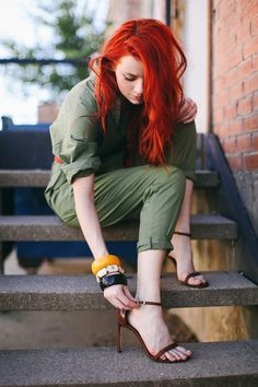 minimal strappy brown sandals