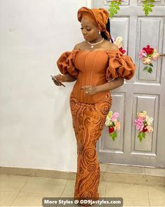 owambe styles - 15 PHOTOS: Exclusive Owambe Styles – Wedding Guest Outfits for 2021 - photo