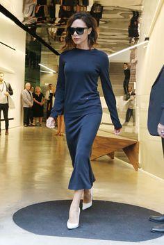 #VictoriaBeckham #White #Shoes