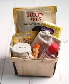 Adorable gift basket