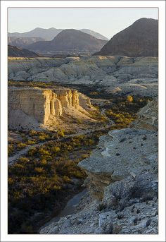 Terlingua Creek / Chihuahuan Desert, West Texas, USA