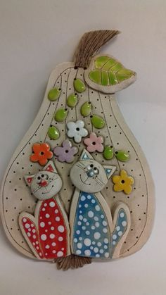 Biscuit, Arts And Crafts, Diy Crafts, Clay Creations, Paper Mache, Wedding Decorations, Easter, Homemade, Crafty