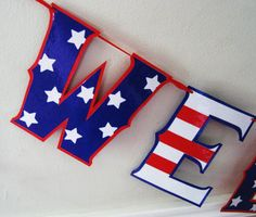 Giant WELCOME HOME Banner for Your Returning Soldier - Patirotic