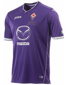 Camisa da Fiorentina para a Final da Copa da Itália 2014 Joma