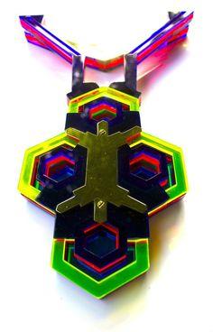 Octo Deco LEDs Neck Piece
