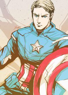 Avengers - Captain America by *shinjyu on deviantART