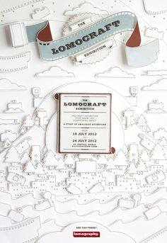 Lomocraft展覽海報設計 | MyDesy 淘靈感