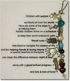 autism awareness images | Autism Awareness Jewelry - Made by someone with autism!