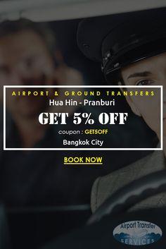 Transfers from Bangkok city hotel to Hua Hin - Pranburi #HuaHinPranburi #HuaHinPranburitransfers #Bangkokcityhotel
