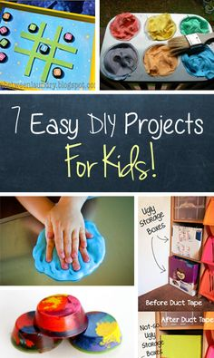 Ridiculously Easy Kids DIY Projects #diy #kids #mibblio