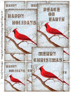 Cute printable Christmas gift tags