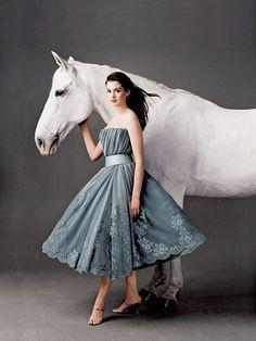 Anne Hathaway: from Vanity Fair Annie Leibovitz