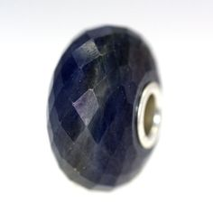 "A great Sapphire. Remember with our ""Twist"" beads you get the bead you buy! Sapphire With A Twist: 07, $155.00 (http://www.trollbeadsgallery.com/sapphire-with-a-twist-07/)"