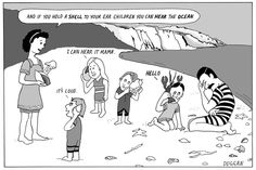 Peter Duggan's Artoons – Salvador Dalí  In Peter Duggan's reimagining of art history, a young Dalí leaves his family shell-shocked on the beach after discovering his surrealist calling in the shape of a Lobster Telephone
