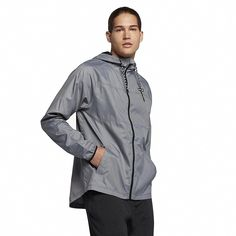 Shop Men's Protect Solid Jacket - Cool Grey - and Discover a Huge Selection of Men's Fleece Coats at Affordable Price. Raincoats For Women, Jackets For Women, Running In The Rain, North Face Rain Jacket, Hooded Raincoat, Mens Fleece, Hurley, Windbreaker, Outfits