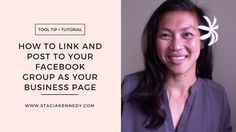 How to Link and Post to Your Facebook Group As Your Business Page