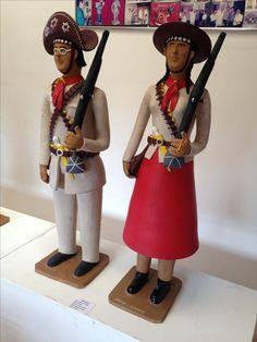 Lampião e Maria Bonita - Mestre Manuel Eudócio (Pernambuco)