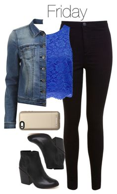"""""""Caroline Forbes inspired Week of School Outfits"""" by staystronng ❤ liked on Polyvore featuring Miss Selfridge, Forever New, VILA, Dolce Vita and Mophie"""