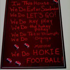 Hokie Family Rules :)...
