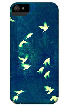"""Retro Birds"" Smartphone Case von Friederike Alexander Fotografie auf DaWanda.com"