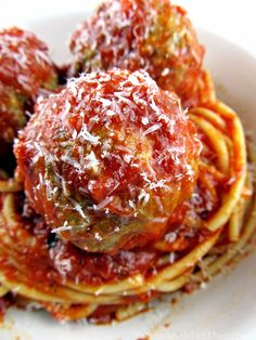 Ricotta Cheese Meatballs--Ricotta makes all the difference in these mouth watering meatballs.