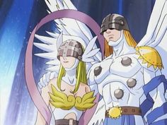 Angewomon & Angemon