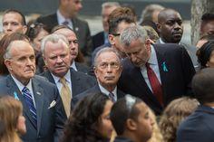De Blasio Adopts a Warmer Tone Toward Bloomberg - The New York Times