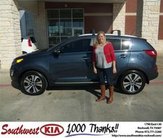 #HappyBirthday to Amanda Buchta from Larry Upton at Southwest KIA Rockwall!