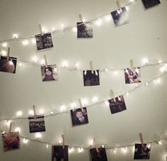 cute way to display instant photos                              …