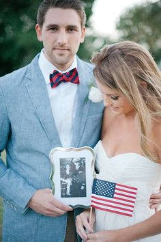 For the Red, White, and Blue: A Stylishly Patriotic Shoot in Palm Beach, Florida