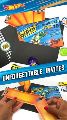 Ready. Set. Party! Making your kids' next birthday epic is easy. Get your customizable tracks and invites here.