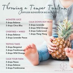 Temper tantrum oils