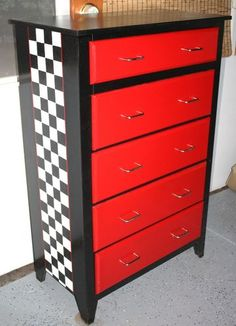 Racing Logo Toolbox Dresser