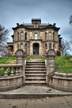 Abandoned Manor House.