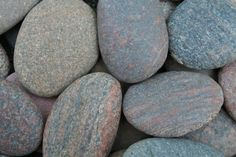 35 Extra LARGE Flat Sea Stones Beach by BalticBeachTreasures