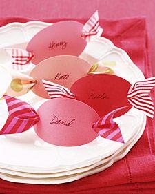 idée marque place mariage thème gourmand
